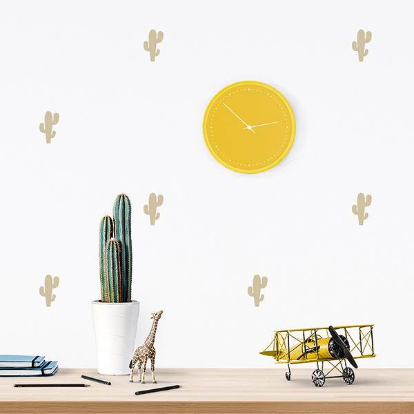 JUSTa Sticker Cactus beige - pattern wall decal